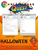 Halloween WebQuest - Engaging Internet Activity (Edit on Google Slides)