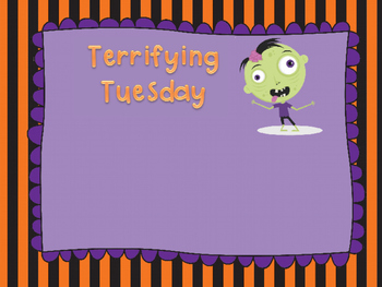 Halloween Weekday Message Powerpoint