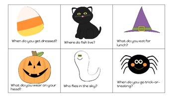 Halloween Wh-questions!