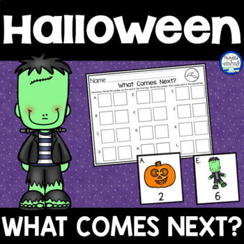 Halloween:  What Comes Next? Math Game