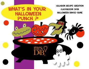 Halloween - What's In Your Halloween Punch ** ORIGINAL ARTWORK