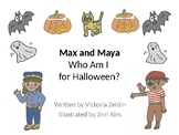 Halloween Who Am I? Inferencing Animated Story + NO PREP W