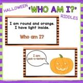 Halloween 'Who Am I?' Riddles - Brain Break - Virtual Halloween Party