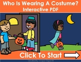 Halloween- Who Is Wearing A Costume Distance Learning Inte