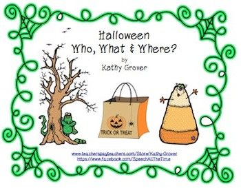 Halloween Who, What & Where?