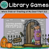 Halloween Library Game - Who's Trick-or-Treating at My Door?