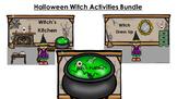 Halloween Witch Activities Bundle