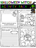 Halloween Witch Activity Pack