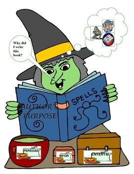 Halloween-Witch Author's Purpose