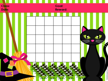 Halloween Witch Classroom Behavior Management System *PowerPoints