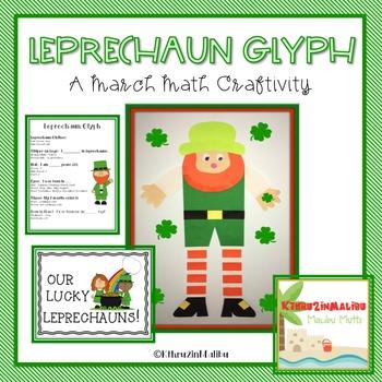 March Leprechaun Glyph-A Math Craftivity