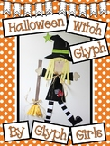 Halloween Witch Glyph