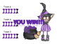 Halloween Witch Interactive Animated Game PowerPoint for any subject / grade