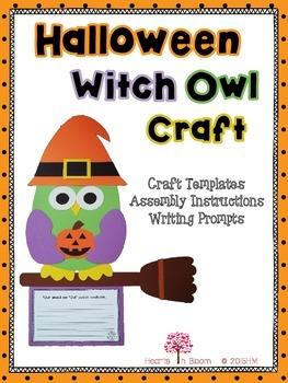 Halloween Witch Owl Craft