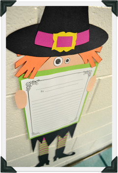 Halloween Writing & Witch Craftivity
