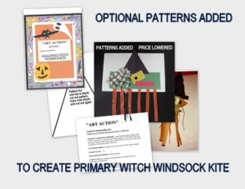 Halloween Witch Windsock Kite