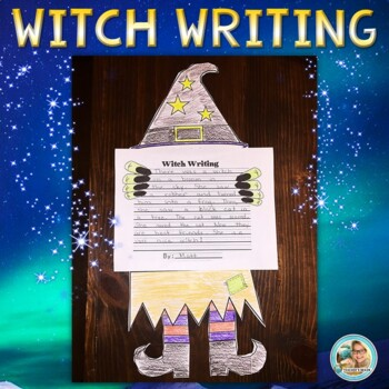 Halloween Witch Writing Activity