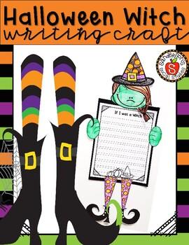 Halloween Witch Writing Craft