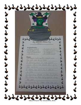Halloween Witch's Brew- A Reader's Theater