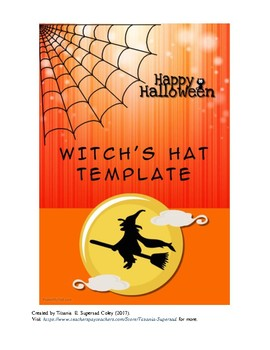 Halloween Witch's Hat Template