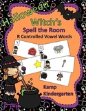 Halloween Witch's R Controlled Vowels Spell the Room