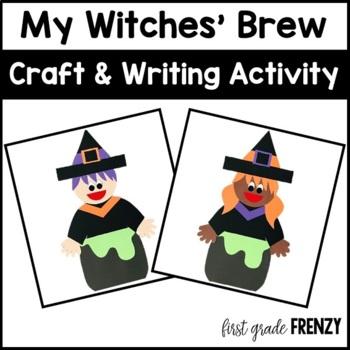 Witches Brew Halloween Craftivity