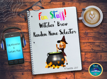 Halloween - Witches Brew - Random Name Generator by Teach Elite | TpT