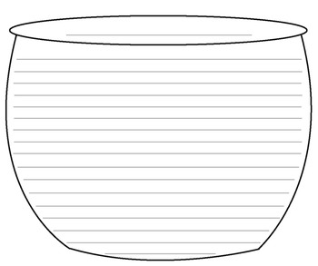 Halloween Witch's Cauldron Writing Template