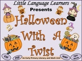 "ESL Resources: ""Halloween With A Twist!""Vocabulary/Literac"
