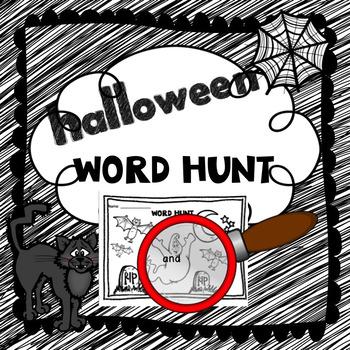 Halloween Word Hunt