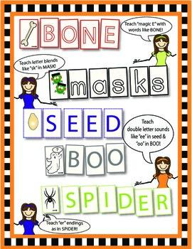 Halloween Word Makers