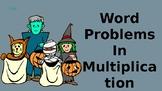 Halloween Word Problem Practice
