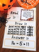 Halloween Word Problem Task Cards - Addition and Subtraction
