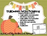 Halloween Word Problems