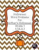 Halloween Word Problems for Arthur's Halloween (Numbers within 10)