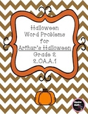 Halloween Word Problems for Arthur's Halloween (Numbers wi