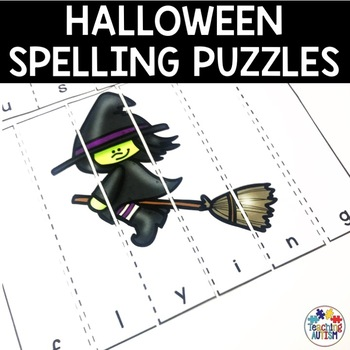 Halloween Word Puzzle Activities