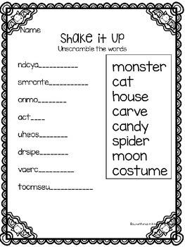 Halloween Printables- FREEBIE