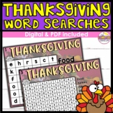 Thanksgiving Word Search DIGITAL