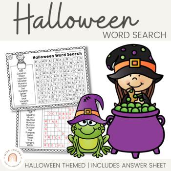 Halloween Word Search FREE