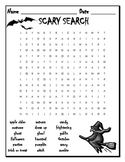 Halloween Word Search - Scary Search