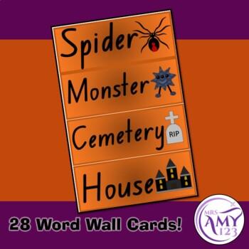 Halloween Word Wall