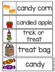 Halloween Word Wall - 40 word cards (two sizes) word list and word work pages