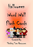 Halloween Word Wall Flashcards