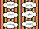 Halloween Word Wall Word Cards -Full Set 96 Words