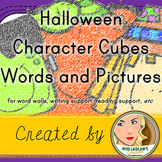 Halloween Word Wall Words and Writing Support - FREEBIE