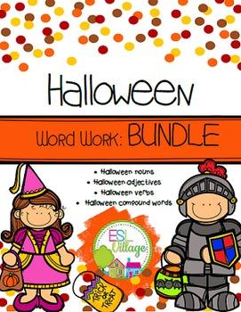 Halloween Word Work Bundle