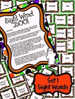 Halloween Word Work Packet