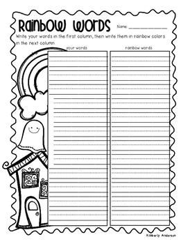 no prep halloween word work fun activities word study spelling sight words. Black Bedroom Furniture Sets. Home Design Ideas
