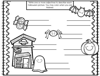 Halloween Word Work: Help build spelling and vocabulary!